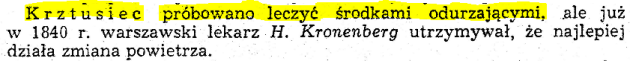 Krztusiec XIX w